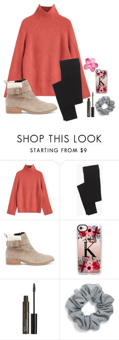 """Walking in a winter wonderland"" by preppypuffpuff on Polyvore featuring Madewell, Sole Society, Casetify, NYX and Natasha"