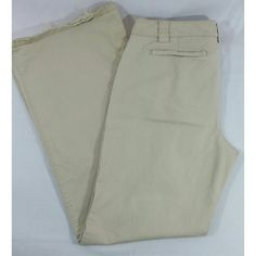 ✂Last Call 🆑GAP wide leg khakis Size 12 wide leg khakis from the GAP. Besides the damage on the back of each leg, there's no stains tears or any other damage  Lowest Price. NO offers GAP Pants Wide Leg