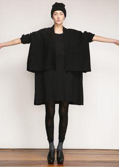Totokaelo - Lauren Manoogian Black Wide Jacket