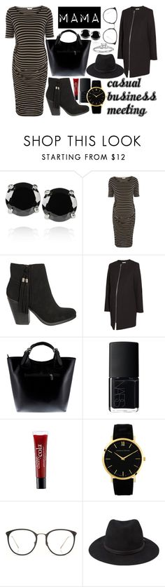 """Casual Business Meeting Mama"" by queenfangirl ❤ liked on Polyvore featuring мода, Kenneth Jay Lane, Dorothy Perkins, H&M, Massimo Castelli, NARS Cosmetics, philosophy, Larsson & Jennings, Linda Farrow и Forever 21"