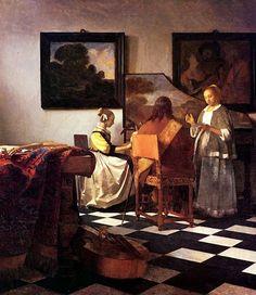 The Concertby Johannes Vermeer Classic Dutch Baroque Art Print | eBay