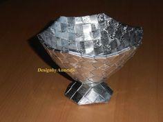 Flettet sølvpokal