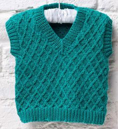 Baby tank top knitting pattern free