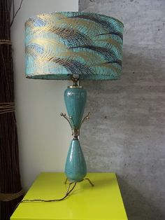 Vintage 1950's table lamp.