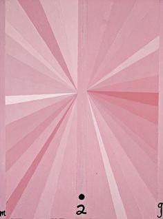 Untitled (Pink Butterfly M02G) by Mark Grotjahn.