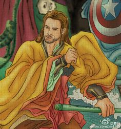 What If the Avengers Became the 8 Taoist Immortals of Chinese Mythology? Thor is already a god in Norse mythology. How does he fair as a Chinese one?  http://www.visiontimes.com/2015/04/09/what-if-the-avengers-became-the-8-taoist-immortals-of-chinese-mythology.html