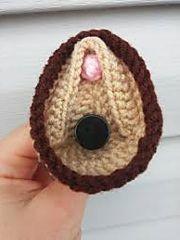 Ravelry: Crochet Vagina Chapstick Holder pattern by Abandoned llama