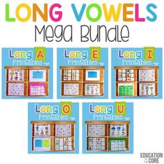Long Vowels Mega Bundle