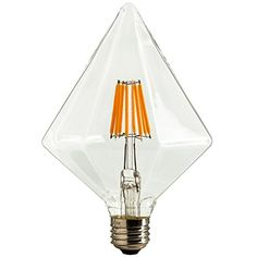 Sunlite DIAM/LED/AQ/6W/DIM/CL/22K Vintage BR40 Diamond 6W LED Antique Filament Style Light Bulb 2200K Medium E26 Base 65W Incandescent Replacement Lamp, Warm White Sunlite http://www.amazon.com/dp/B012VGRA58/ref=cm_sw_r_pi_dp_QEY4vb1SPWYXP
