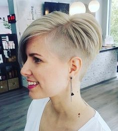 There is Somthing special about wome Short hair styles I'm a big fan of Pixie cuts and styles with... #ShortHairStyles