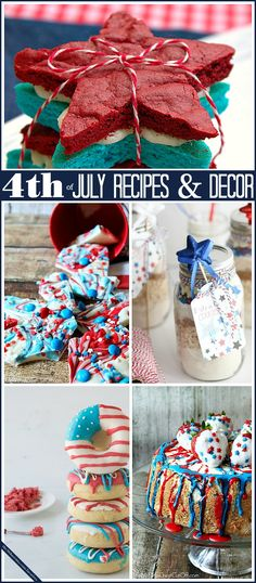 Fourth of July Recipes and Festive Decor