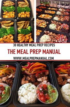 18 best meal prep recipes images on pinterest healthy food meal 30 healthy meal prep recipes in the meal prep manual ebook find recipes like buffalo fandeluxe Images