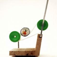 Osko + Deichmann sushi roller machine.