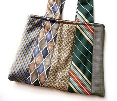 ties.......I will make this with his old ties ~HH