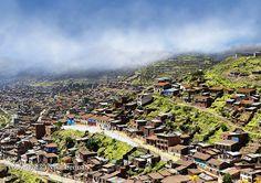 Poor neighborhood on the outskirts of Cusco. Peru. A by NikaLerman, $25.00
