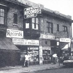 Joe's Records, Black Bottom Detroit