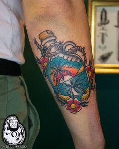 Thanks Pascal! Charm Tattoo, Lucky Charm, Watercolor Tattoo, Charmed, Tattoos, Tatuajes, Tattoo, Temp Tattoo, Tattos