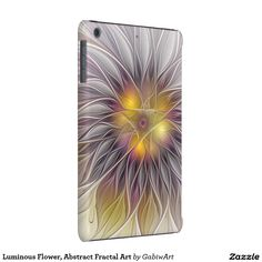 Luminous Flower, Abstract Fractal Art iPad Mini Retina Cover