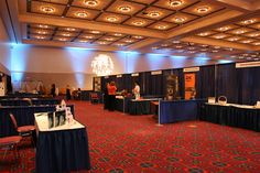 The Oregon Ballroom can fit up to 125 10' x 10' exhibits. Photo: Nancy Erz