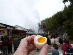 """Uovo, """"Mineonsen-Daifunsen""""(Terme), Kawazu, Izu Shizuoka Japan (Febbraio)"""