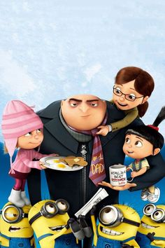 Breakfast with the wold's best Dad/Villain. | Minions Movie | In Theaters July 10th