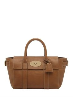 SMALL BAYSWATER BUCKLED LEATHER BAG