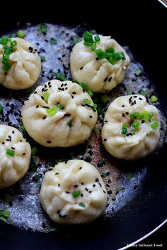 Pan-Fried Pork Buns-Sheng Jian