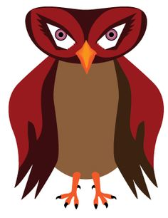 Serious Owl from http://owladay.wordpress.com