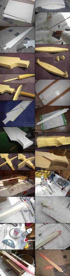 WIP 1 - Sailor Moon Galaxia Sword - Cosplay Prop by NettyCosplay.deviantart.com on @deviantART