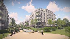 Brunnen Viertel Potsdam: Neubau von Eigentumswohnungen - Foto: VERIMAG Vertriebs- und Marketingges. mbH