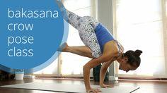 Crow Pose Yoga Class: How to Bakasana with Briohny Smyth Yoga