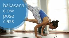 Crow Pose Yoga Class: How to Bakasana with Briohny Smyth Yoga