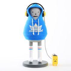 Kibon   Walkmon Blue, $50, now featured on Fab.