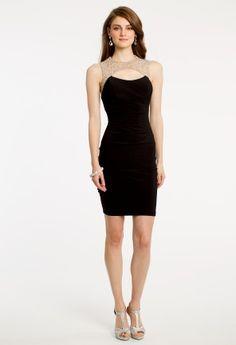 Xscape Dress Sleeveless Lace Cocktail Sheath - Womens Dresses ...