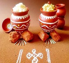 Pongal Festival - A guide to Pongal Festival celebrated in Tamil Nadu. Includes the customs and traditions about the festival. Includes Pongal Festival Recipes too. Diy Diwali Decorations, Festival Decorations, Flower Decorations, Pongal Greeting Cards, Sankranthi Festival, Thai Pongal, Pongal Celebration, Meal Calendar, Calendar 2014