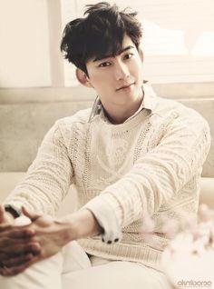 2PM's Taecyeon Silk Print Poster