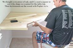 DIY dressing table or corner desk