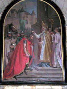 1er octobre, fête de saint Remy, évêque de Reims, qui baptisa le roi Clovis.