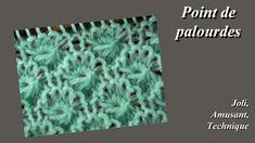 Tuto tricot : Point de palourdes