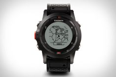 You don't need to be an outdoorsman to appreciate the Garmin Fenix GPS Watch ($400) — although it doesn't hurt. Built for those who steer well clear of the beaten path, it lets users plan trips and create routes, record waypoints, and record GPS bread crumb trails while keeping them on track, and also features ANT and Bluetooth capabilities to talk with external sensors and wirelessly share data, an altimeter, barometer, and compass, a polyurethane wristband, an LCD display with an LED backlight