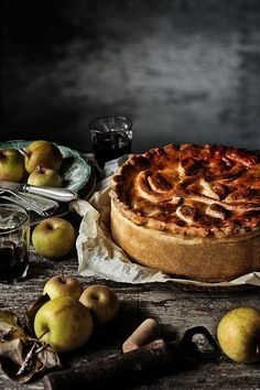 Alheira, green cabbage and green apples tart | Flickr - Photo Sharing!