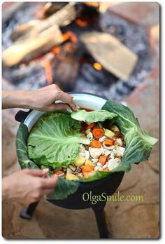 Przepis na kociołek Grilling Recipes, Cooking Recipes, Healthy Recipes, Cooking Tips, Camping Snacks, Slow Food, Dessert For Dinner, Special Recipes, Tasty Dishes