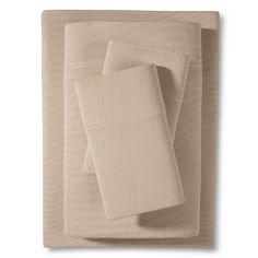 Room Essentials™ Jersey Sheet Set - Tan