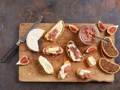 Feigen-Birnen-Senf | Migusto Dairy, Cheese, Food, Pears, Figs, Mustard, Home Canning, Homemade, Rezepte