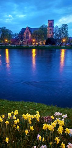 Inverness Cathedral on the River Ness in the Scottish Highlands • photo: Daniel Peckham on Flickr