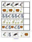 Australian Animals cut and paste activities for Preschool, PreK and Kindergarten