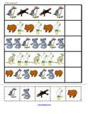 Australian Animals cut and paste activities for Preschool, PreK and Kindergarten
