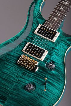Paul Reed Smith Custom24 2013 KID Limited Turquoise
