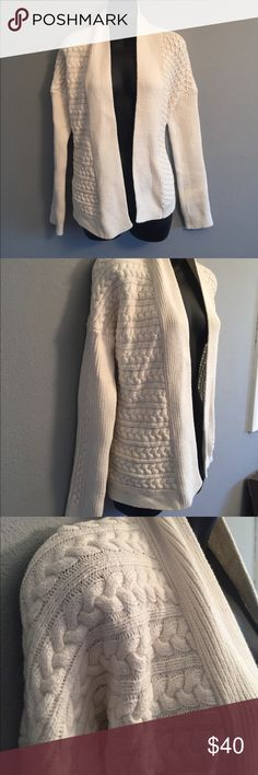 Tory Burch Excellent shape drape cable knit cardigan Tory Burch Tops
