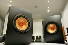 KEF LS50 Monitors by Frank Harvey Hi-Fi Ltd, via Flickr
